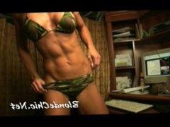 Pretty miami beach stripper on webcam