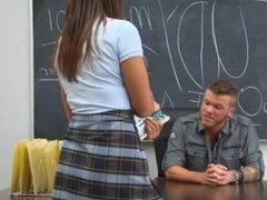 penetrate Education with ultra hot teen
