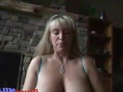 Horny house wife get fucked and masturbates
