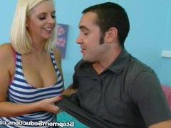 Mandy Seduces Her Stepson In The Bedroom