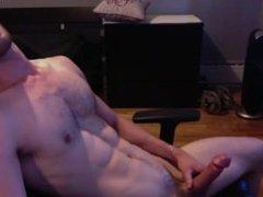 Girls online dirtytalk gets best of guy edging on webcam