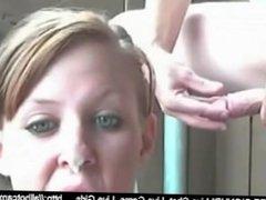 Amateur Brunette Swallows Sperm On Cam webchat sperm adult cam webcam free
