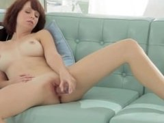 Glass toy in shaved pink hole