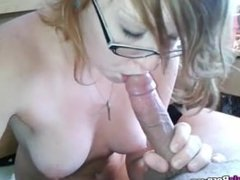Brunette Girl Sucking Cock And Have Cowgirl Sex