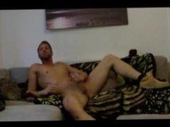 English pornstar Jonny Cockfill intense jerk off