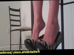 Humiliation from Amber in heels