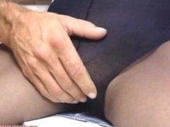 Nylons and cock