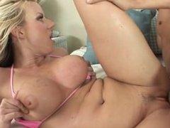 Big titted Carolyn Reese fucked hard