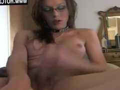 Webcams Free Shemale With Glasses Cum on Webcam - www.HOTCams.pw