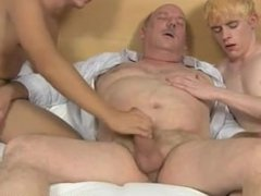 Gay Old n Young Threesome