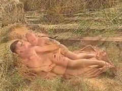 Muscle euro studs roll in the hay
