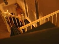 Getting The Pizza at the Door while Naked