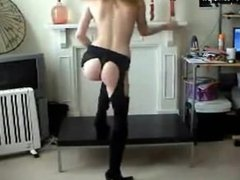 Live Show Sexy Redhead Striptease on Webcam - www.HOTCams.pw