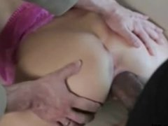 BBC Pounds Wife While Husband Watches