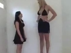 Cassidy Heights - Tall sexy woman with short girlfriend