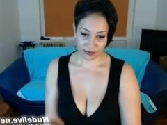 webcam masturbation -super hot busty stripping