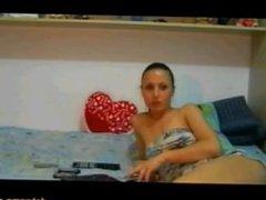 Horny Texas Teen Girlfriend wants you to watch her masturbate