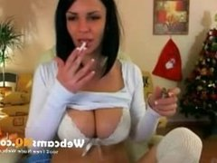 webcam masturbation - super hot and young smoke girl 2