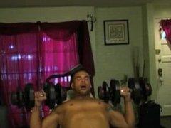 Marcus Patrick Thong Workout.