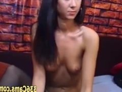 Young Brunette Girl Is Fucking Awesome On Webcam