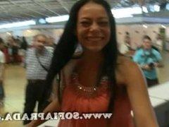Video clip en el Salon Erotico de Barcelona 2011
