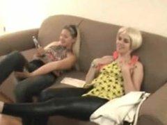 Lesbian foot slave 2
