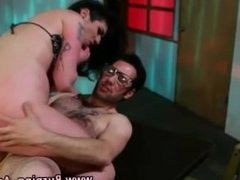 Goth slut gets tits cumshot