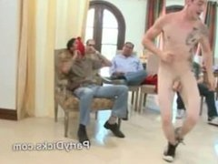 Male stripper cocks sucked by horny guys