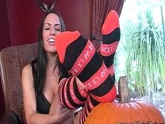 Lexi Lapetina Halloween Socks Joi