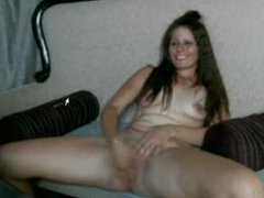 Hot cam girl shows herself