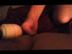 Mrs. Squirts All Over Mr. with Hitachi