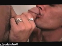 Jack fucked with a nice toy dick