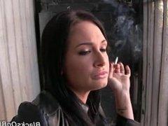 Tory Lane smoking
