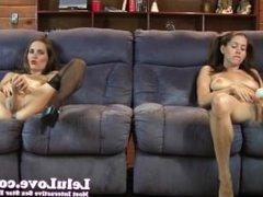Lelu Love-Lelu Twins Mutual Masturbation
