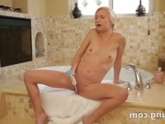 masturbation with teethbrush