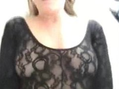 Homemade milf with lingerie