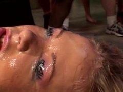 AMERICAN BUKKAKE DOES THE STARS - Scene 2