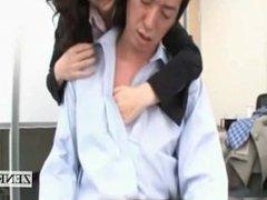 Subtitled Japanese insurance milf office escort service