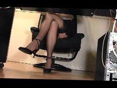 Office Masturbation 2