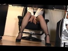 Office Masturbation 3