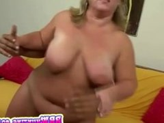 heavy big blonde fucked