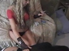 Jenna lesbian foot worship
