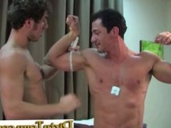 Hottie Straight Dude Gets His First Gay Blow Job