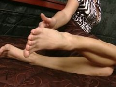 Czech Sexy Feet - Sandra Shows Her Bare Feet