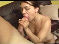 Hot tit blowjob!