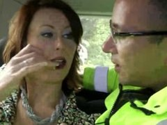 Mature in stockings wants police dudes cock