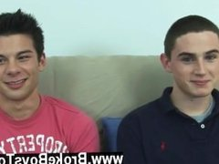 Gay porn Turning over onto his side, legs spread wide with Tyler betwixt