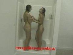 Amateur Lesbians Shower