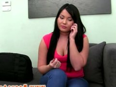 Casting audition with BBW raven