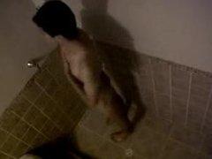 shower spycam twink caught jo
